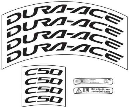Shimano WH-7900-C50-CL Rim Sticker Unit