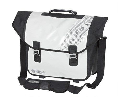 Ortlieb Downtown Black n White Rear Pannier Bag with QL2.1 Fitting System | item_misc