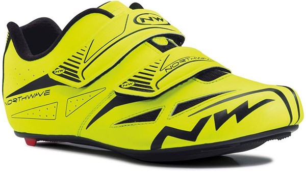 Northwave Jet Evo Yellow Road Shoe