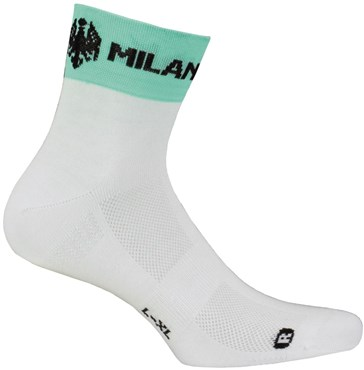 Nalini Bianchi Milano Team Issue Cycling Socks SS16
