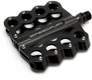 Speedplay Brass Knuckles Chromoly Flat Pedals