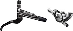 Shimano BR-M9000 XTR bled I-spec-II ready brake lever / Post mount calliper - front