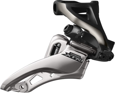 Shimano FD-M9020-H XTR Double Front Derailleur - Side Swing - Side Pull - High Clamp