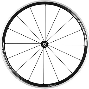 Shimano WH-RS330 Wheel, Clincher 30 mm, Black, Front
