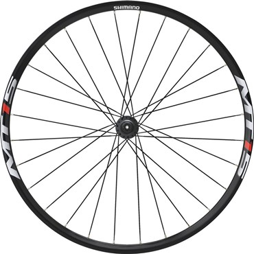 Shimano WH-MT15 XC Wheel, 9X QR Axle, 27.5in (650B) Clincher, Black, Front