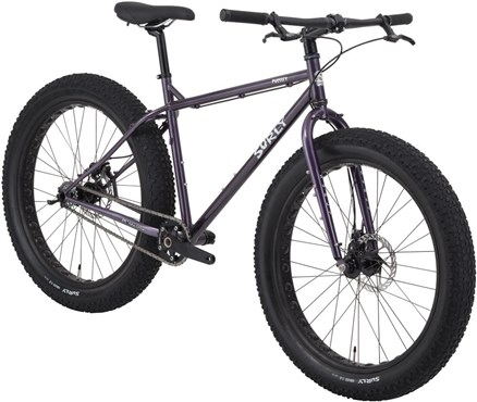 surly pugsley single speed mountain bike 2016 out of stock tredz bikes. Black Bedroom Furniture Sets. Home Design Ideas