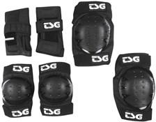 Product image for TSG Basic Elbow / Wrist / Knee Padset - Black