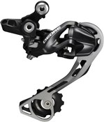 Product image for Shimano RD-M610 Deore 10-speed Shadow Design Rear Derailleur - SGS - Black