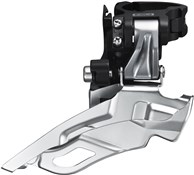 Product image for Shimano FD-M611 Deore 10-Speed Triple Front Derailleur - Conventional Swing - Top-Pull