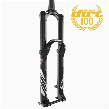 "RockShox Pike RCT3 - 27.5"" MaxleLite15 - Solo Air 130 - Crown Adj Alum Str - Tapered - Disc"