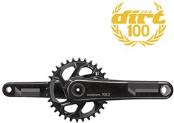 Product image for SRAM XX1 Crank - GXP - 1x11 - Q-Factor Includes 32T Direct Mount Chainring (GXP - Cups NOT inc.)