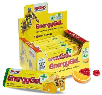 High5 Energy Gel Plus - 38g x Box of 20