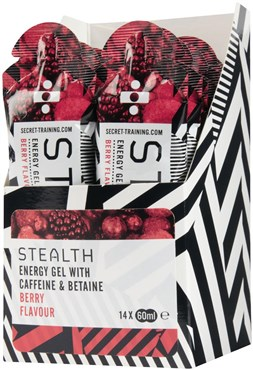 Secret Training Stealth Energy Gel with Caffeine and Betaine - 60ml x Box 14
