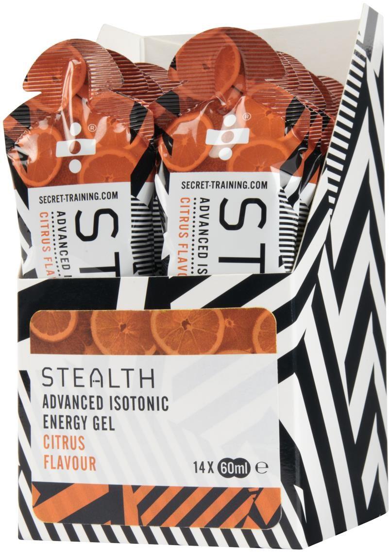 Secret Training Stealth Isotonic Energy Gel - 60ml x Box 14 | Energy gels