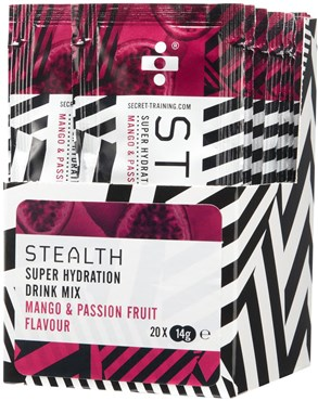 Secret Training Stealth Super Hydration Drink Mix Powder - 14g x Box of 20