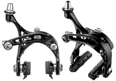 Campagnolo Skeleton Dual Pivot Black Brake Calipers