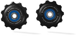 Product image for SRAM BlackBox Ceramic Bearing Pulleys AeroGlide Road