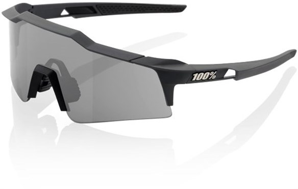100% SpeedCraft Short Lens Sport Sunglasses - Smoke Lens