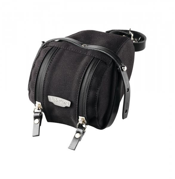 Brooks Isle of Wight Saddle Bag M - black | Saddle bags
