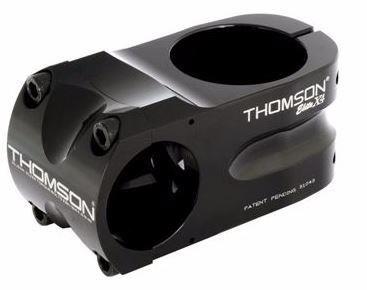 "Thomson Elite X4 MTB Mountain Bike Stem 1.5/"" 0 degree 31.8 x 45mm Black"