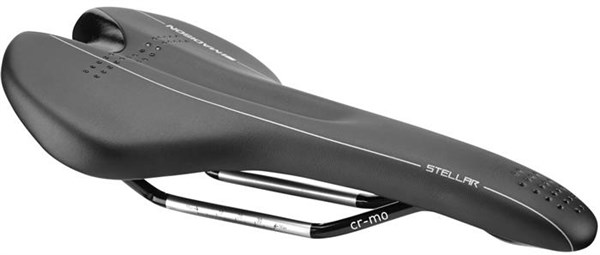 Madison Stellar-145 Saddle With Cro-mo Rails