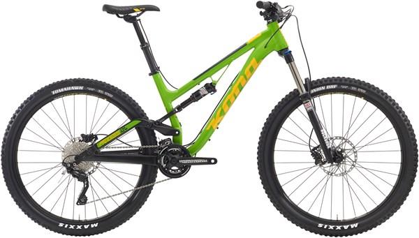 Kona Process 134 Mountain Bike 2016 - Trail Full Suspension MTB