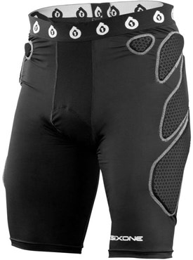 SixSixOne 661 Exo Short II W-Chamois Protective Cycling Shorts 2017