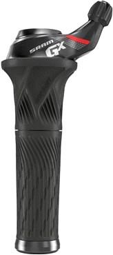 SRAM Shifter GX Grip Shift 11 Speed Rear with Locking Grip Red