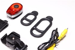 Moon Ring USB Rechargeable 25 Lumens Rear Bike Light