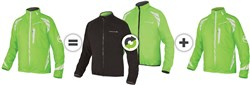 Product image for Endura Luminite 4 in 1 Cycling Jacket With New Luminite II LED