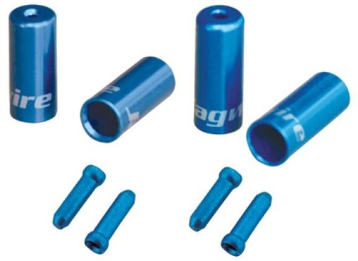 Jagwire Single Bike Kit - Cable Ends and Tidys