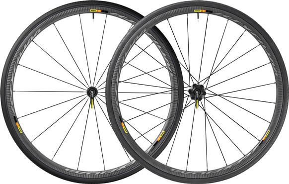 318237dab5b Mavic Ksyrium Pro Carbon SL C Clincher Road Wheels 2017 - Out of ...