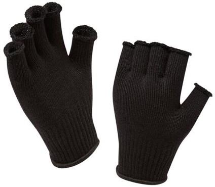 Sealskinz Merino Fingerless Cycling Gloves Liner
