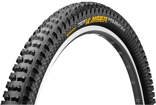 Continental Der Kaiser Projekt ProTection BlackChili Apex 27.5 inch MTB Folding Tyre | Tyres