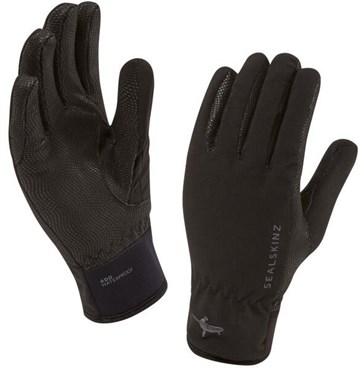 Sealskinz Womens Sea Leopard Long Finger Cycling Gloves AW17