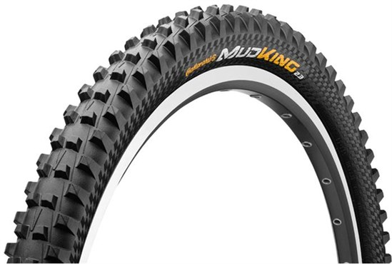 Continental Mud King Protection 27.5 inch Black Chili Folding MTB Tyre | Dæk