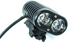 Gemini DUO LED Rechargeable Front Light - 1500 Lumens