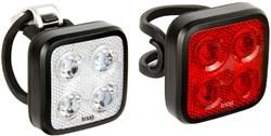 Knog Blinder Mob Four Eyes Twinpack USB Rechargeable Light Set