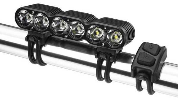 Gemini Titan LED Rechargeable Front Light - 4000 Lumens | Forlygter