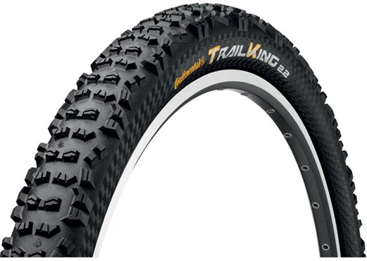 Continental Trail King UST 26 inch Black Chili Folding Off Road MTB Tyre | Dæk