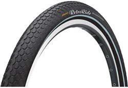 Continental Retro Ride Reflective 28 inch Hybrid Tyre