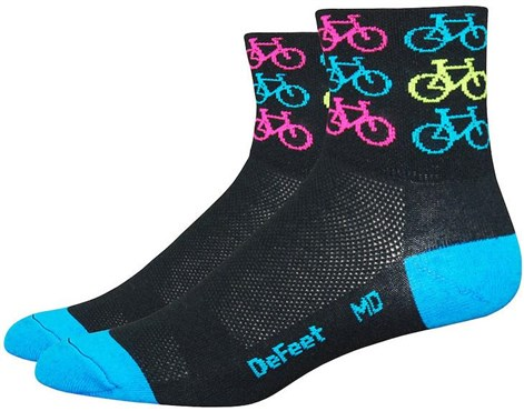 Defeet Aireator Cool Bikes Socks