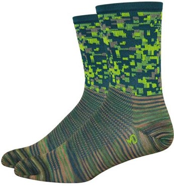 Defeet Aireator Hi Top Recon Digital Socks