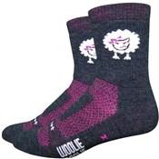 """Defeet Woolie Boolie Baaad Sheep Socks with 4""""  Cuff"""