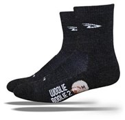 "Defeet Woolie Boolie 2 Socks with 4"" Cuff"
