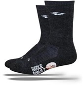 "Defeet Woolie Boolie 2 Socks with 6"" Cuff"