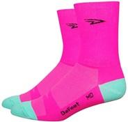"Defeet Aireator 5"" D Logo Hi-Vis Socks"