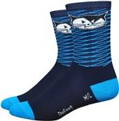 """Defeet Aireator Womens 5"""" Vanderkitten Socks"""