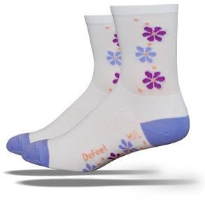 Defeet Aireator Tall Pansy Womens Socks