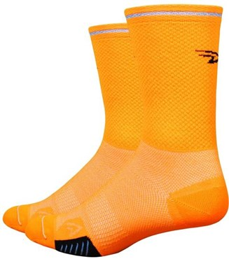"Defeet Cyclismo 5"" Socks - Reflective Stripe"